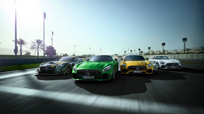 Mercedes-AMG growls its way into the SA Festival of Motoring!