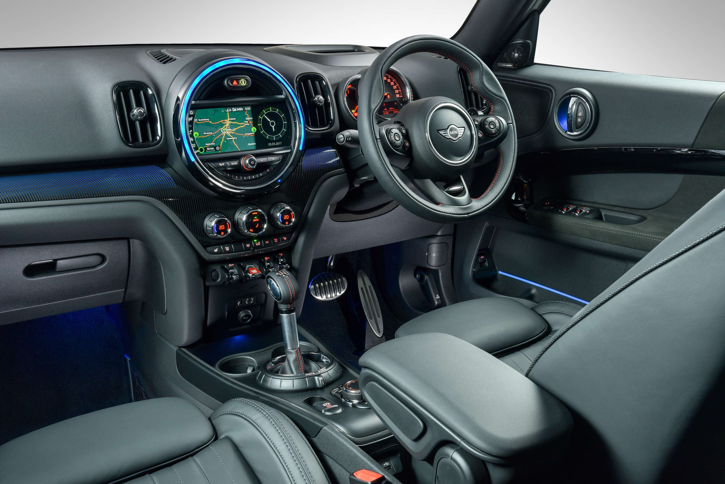 Colour changing car technology -  A Touchscreen Interface On The Central Instrument Is Available As An Upgraded Option The Mini Connected App Which Links Your Phone To Your Car S