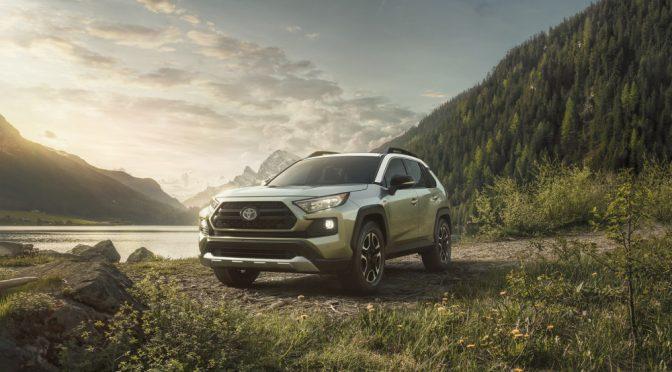 New Toyota Rav4 gets advanced AWD technologies
