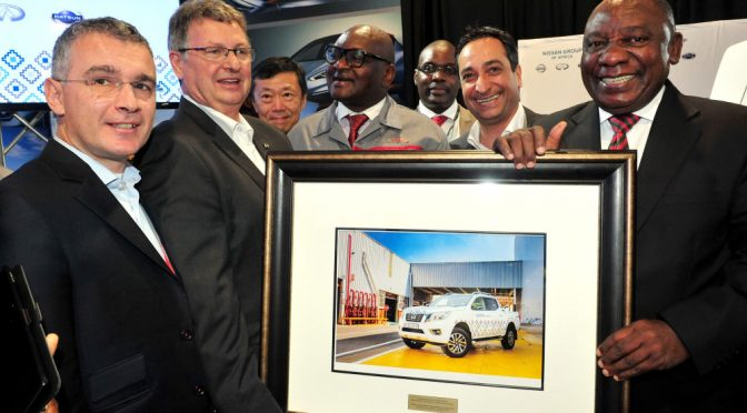 Nissan announces R3 billion investment to produce Navara pickup in South Africa