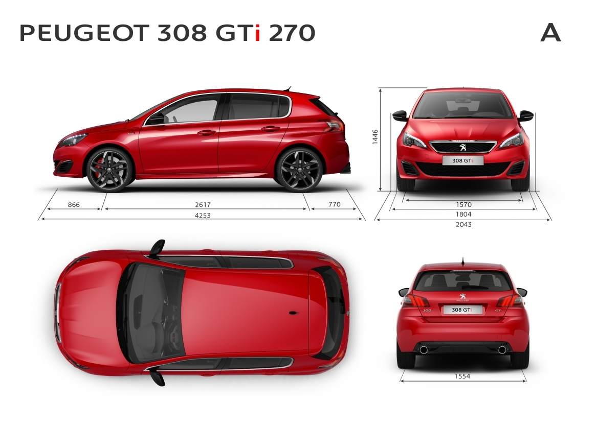 the ultimate hot hatch the model 308 peugeot gti. Black Bedroom Furniture Sets. Home Design Ideas