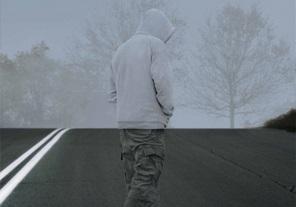 Pedestrian Safety - Camouflaged Pedestrian