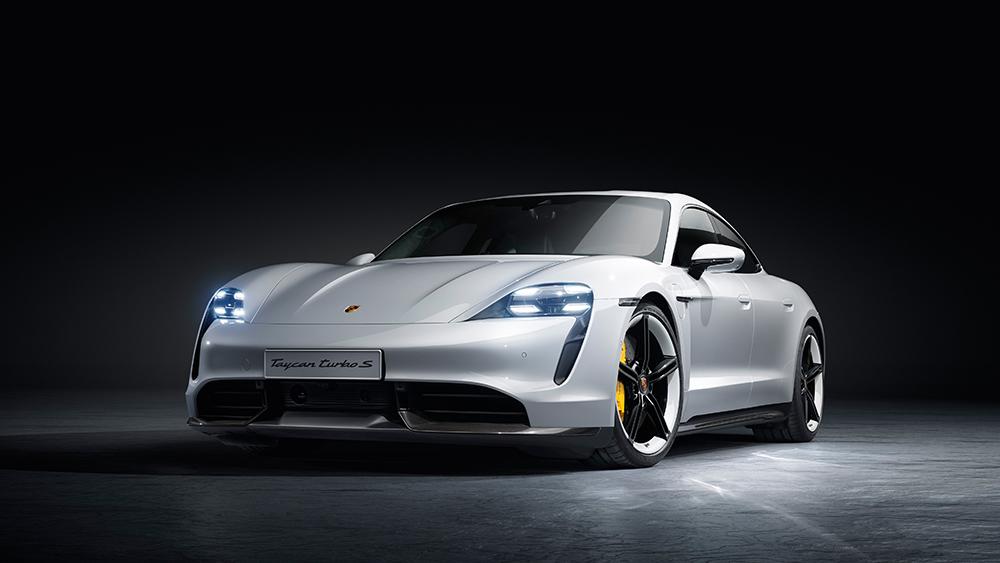 Porsche Taycan   eco-conscious