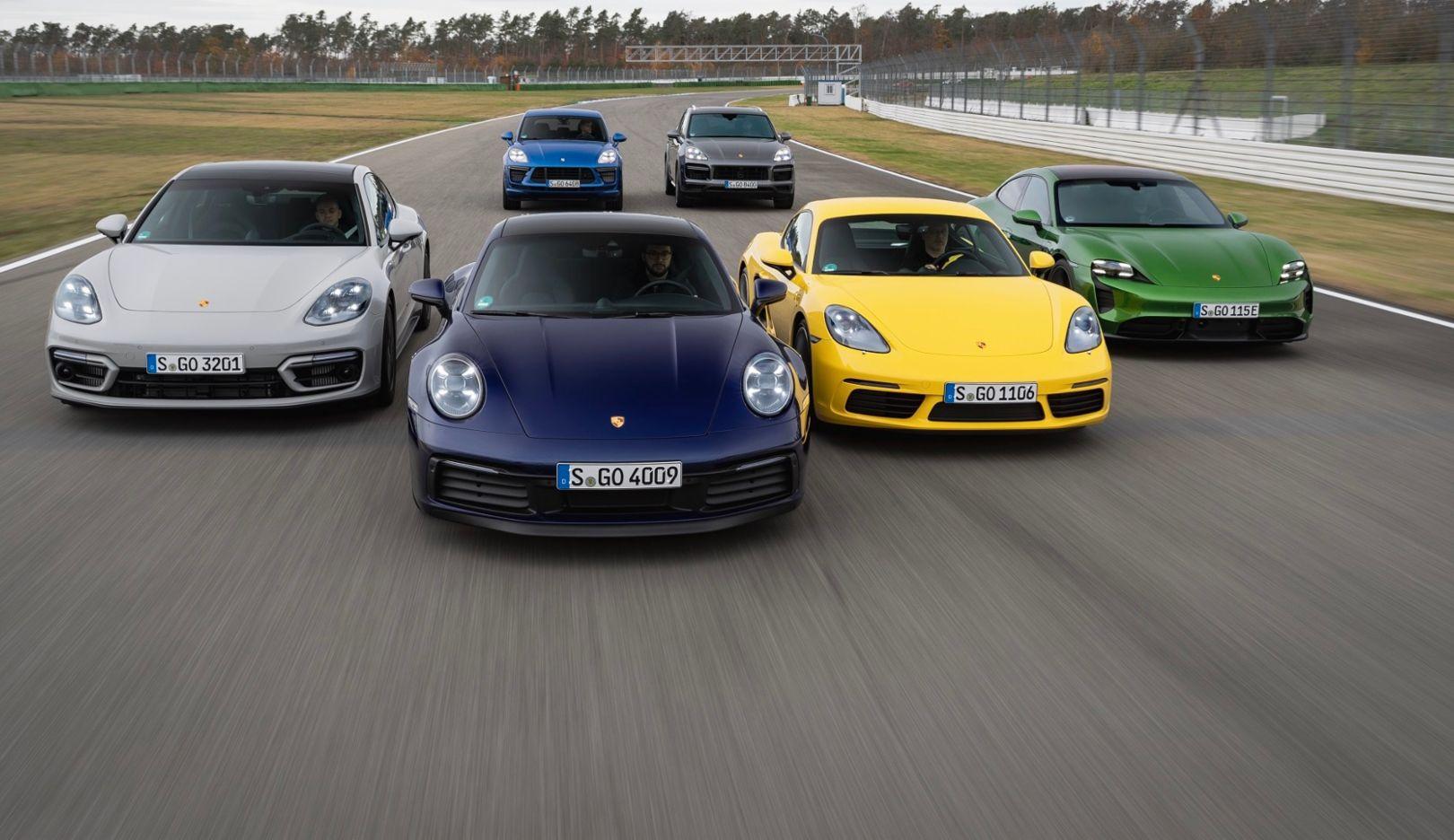 Porsche delivered 272,162 new vehicles worldwide in 2020