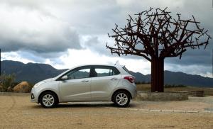Hyundai i10 side profile