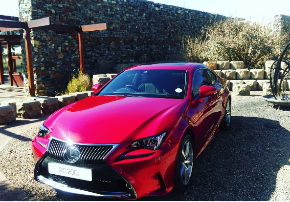 Lexus RC 200t Solar Red
