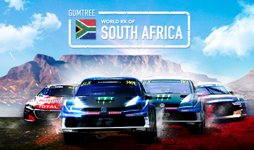 WIN X2 tickets to the Gumtree World RallyCross of South Africa