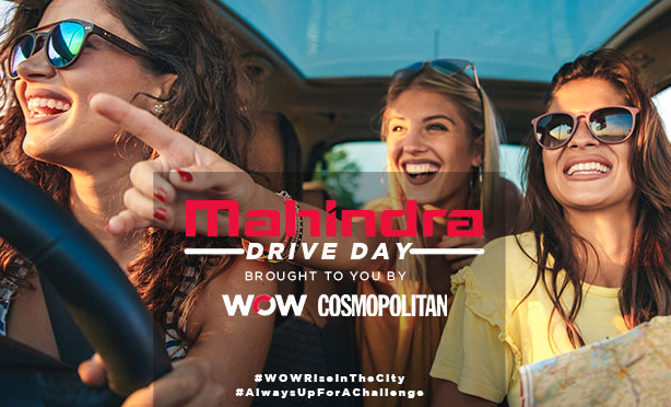 WATCH: Here's what went down at the WOW x COSMO Drive Day with Mahindra SA