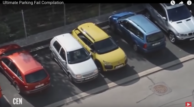 Parking fails | video | watch