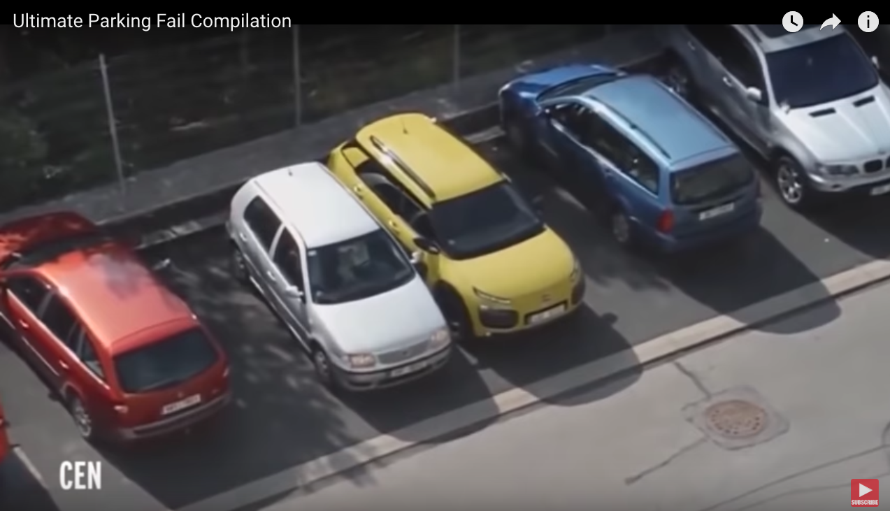Parking fails | video | watch