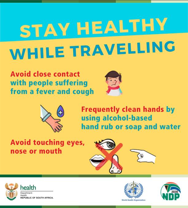 coronavirus | covid-19 | keep healthy while travelling