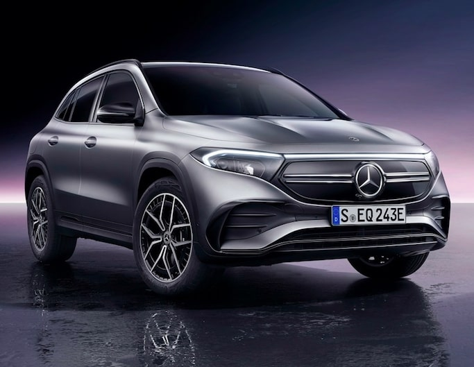 Mercedes plans to launch numerous EVs in 2021
