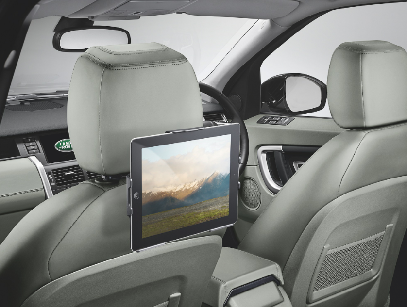 Land Rover accessories - ipad holder