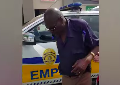 WATCH: Drunk Police Officer Caught On Camera