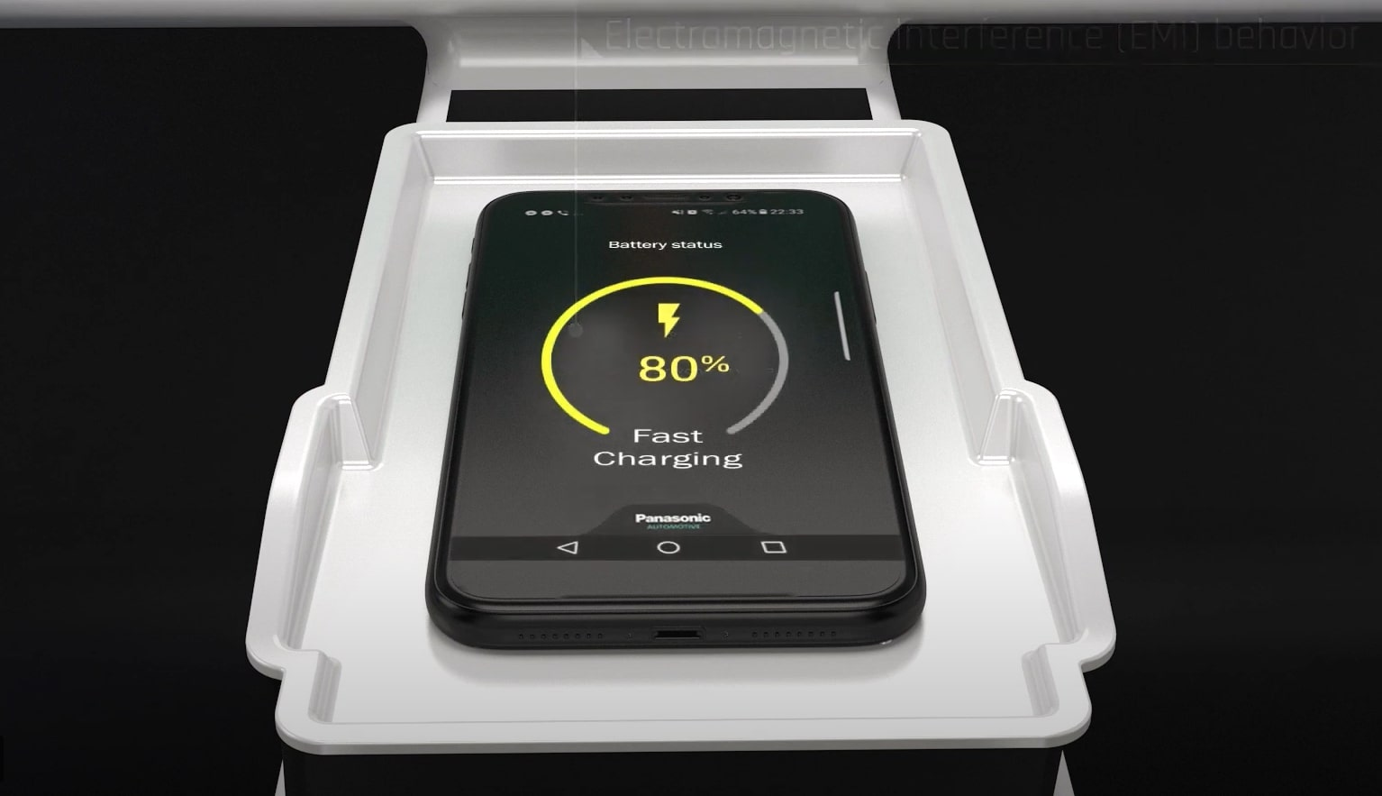 Panasonic unveils charger that moves to find better internet connection