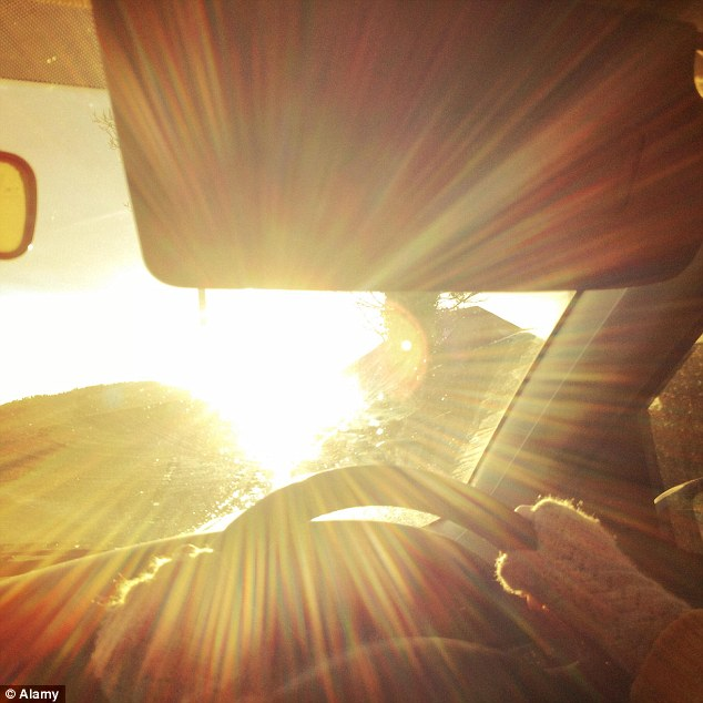 Sunrise and Sunset driving