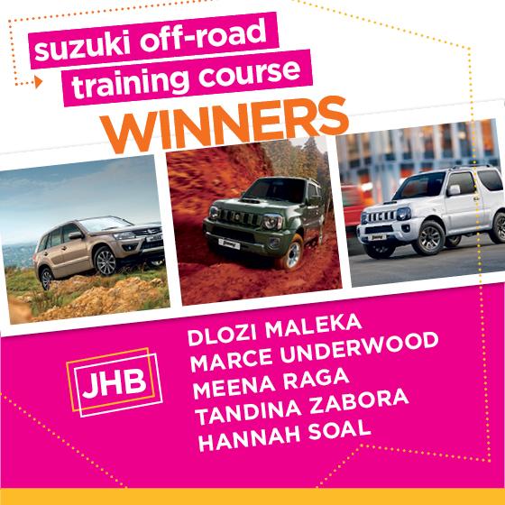 Suzuki winners