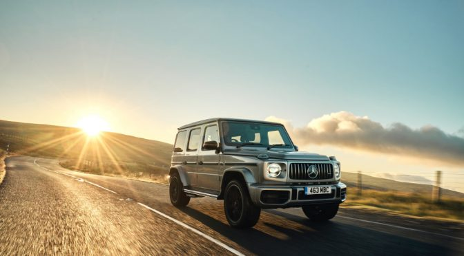 The new Mercedes-AMG G 63 is here!
