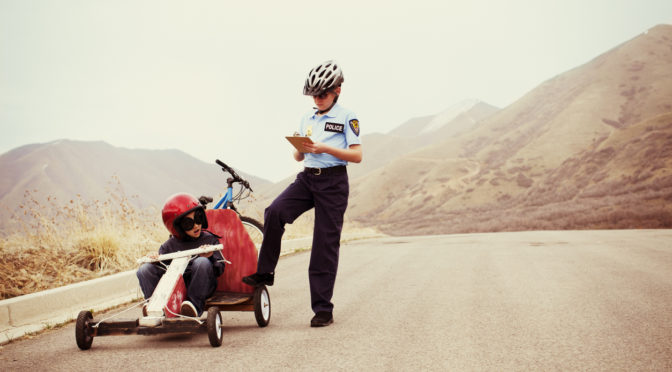 Traffic checkpoint | Don't break the law