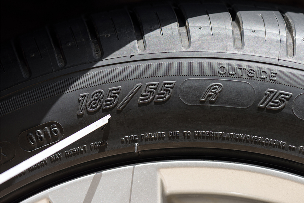 Tyres | numbers | sidewall | definition