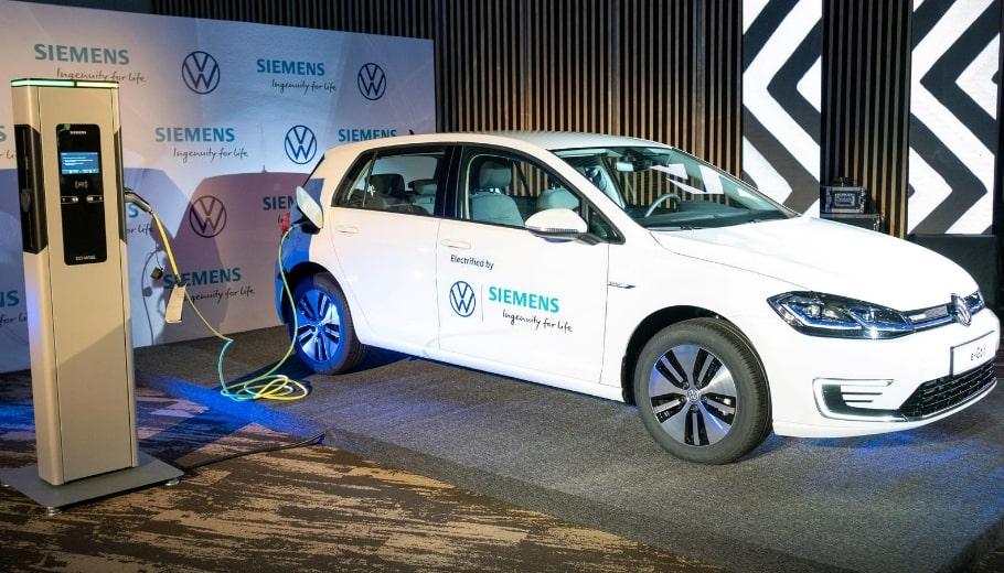 Volkswagen Rwanda unveils new EV charging stations