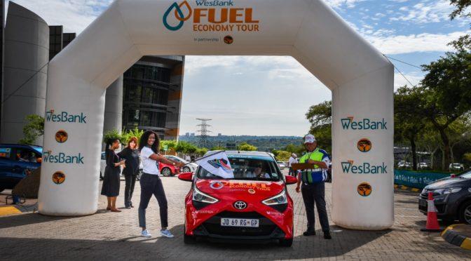 Toyota Aygo wins WesBank Fuel Economy Tour