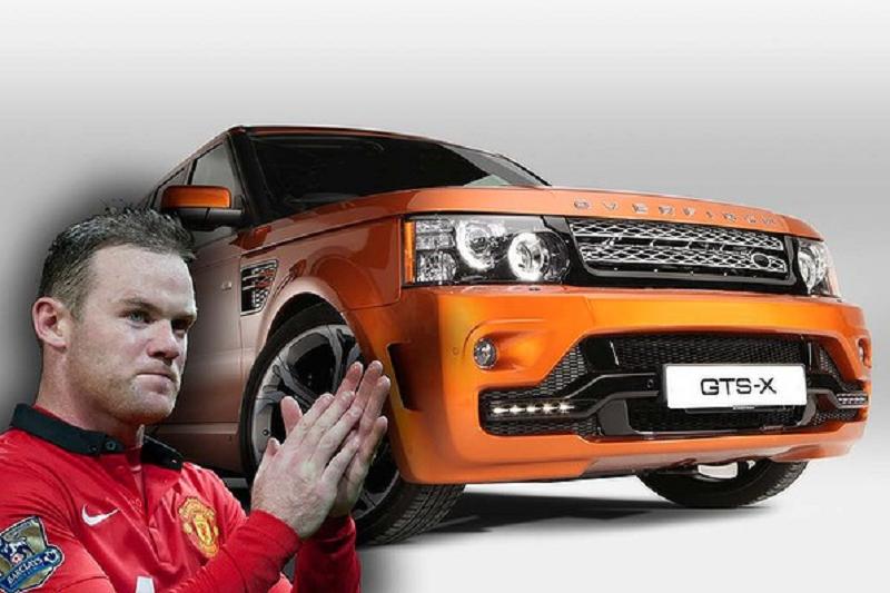 Wayne Rooney Range Rover Overfinch Wayne Rooney Range Rover Overfinch