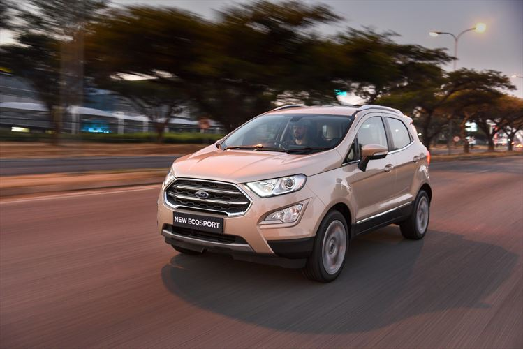 We drive the new Ford EcoSport 1.0 Titanium