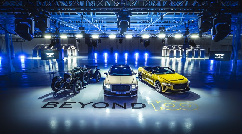 Bentley to go fully electric by 2030