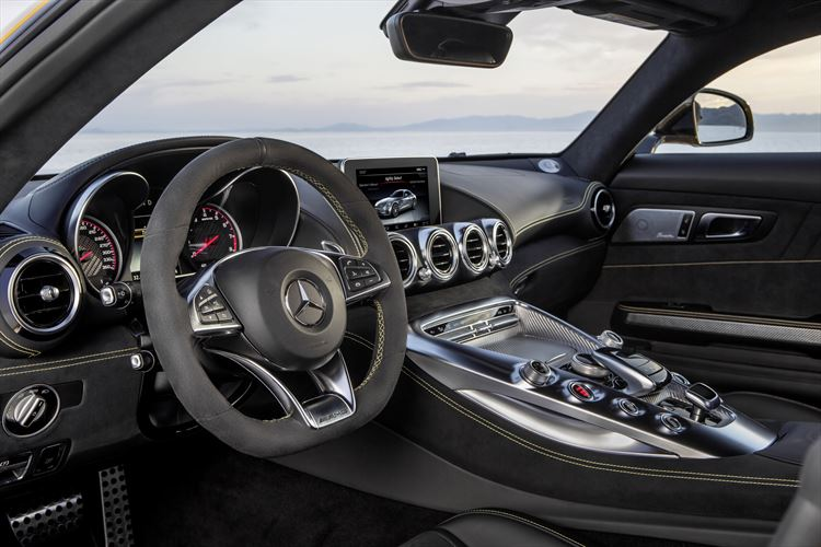 Mercedes-AMG GT Driver Seat
