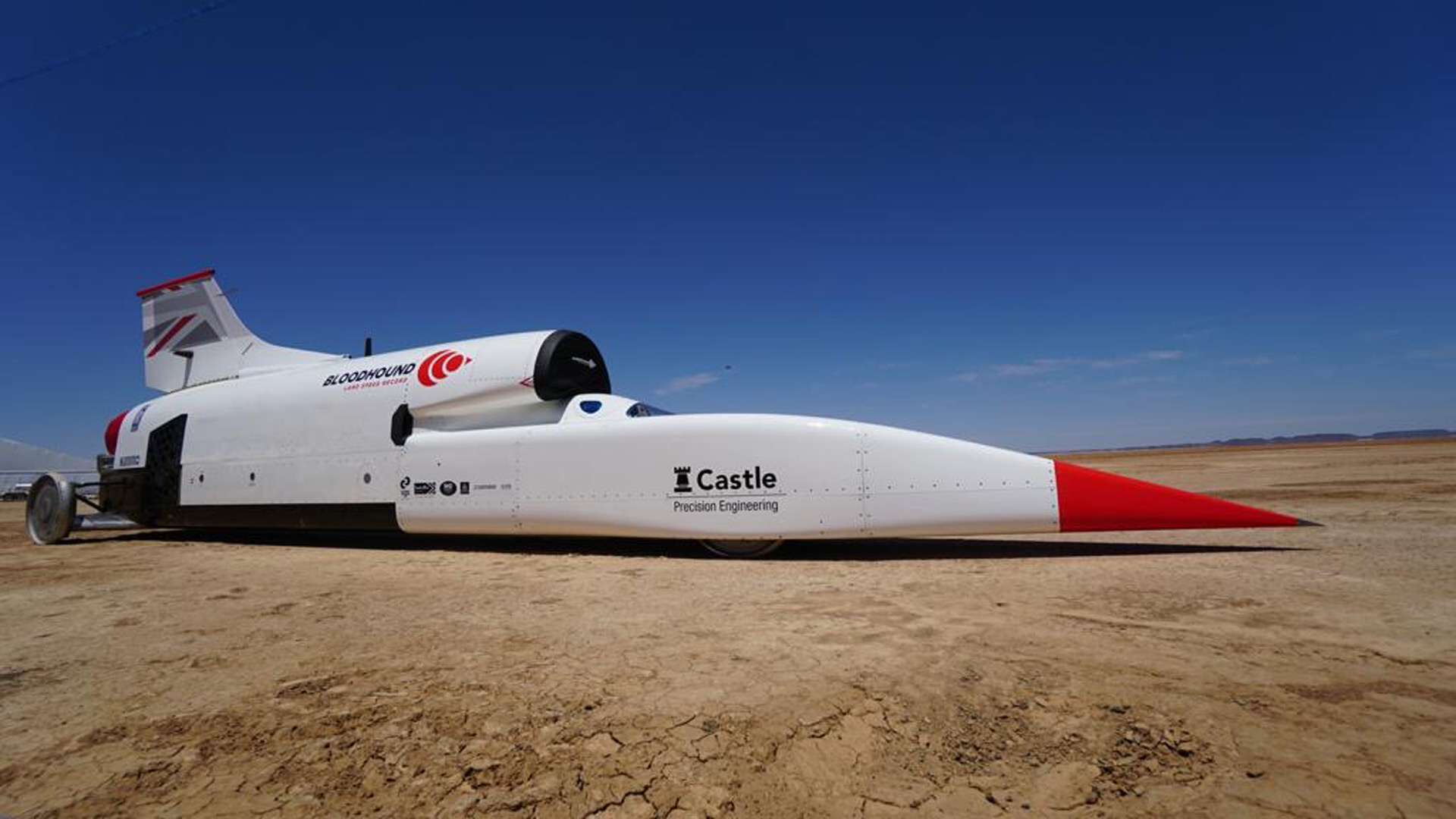Supersonic car project seeks new owner