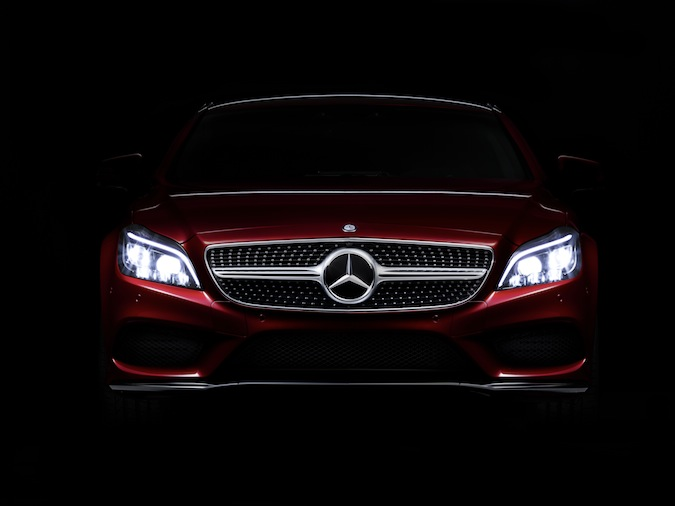 Mercedes-Benz CLS lights