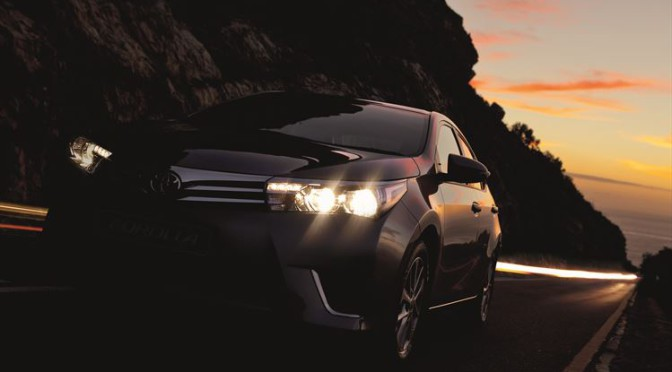 Toyota Corolla 2015 close up front