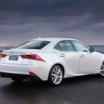 Lexus IS 200t - back view