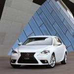 Lexus IS 200t - white front