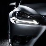 Lexus IS 200t - front light