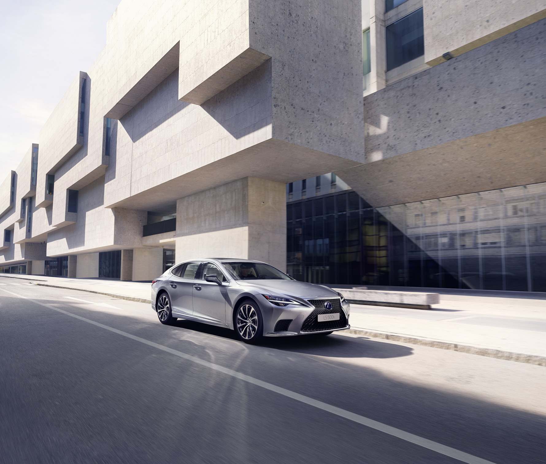 The flagship Lexus LS sedan to make its SA debut in late 2021