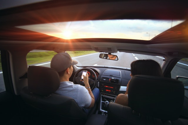 Texting while driving reduces driver concentration by 35%