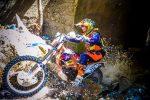 Red Bull Sea to Sky - driving bike through water