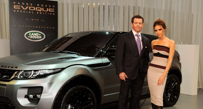 Land Rover Launch Range Rover Evoque Special Edition With Victoria Beckham - Evening Reveal