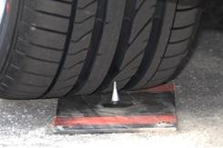 run flat tyre - spike