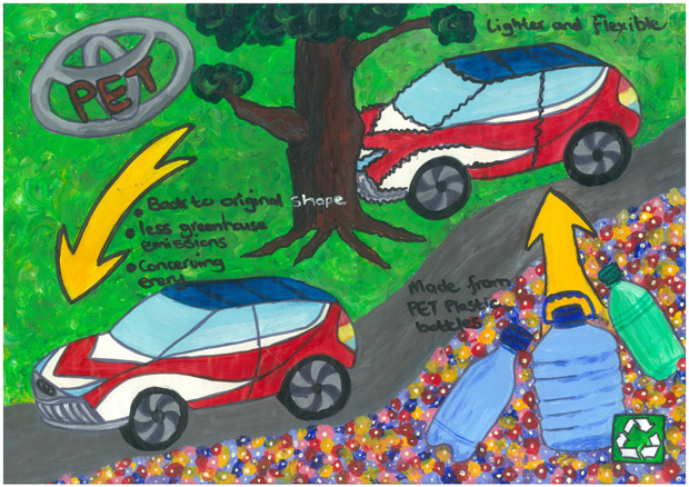 Toyota Announces Winners Of Dream Car Art Contest Women On Wheels