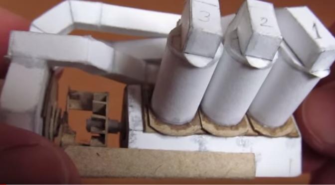 V6 Engine - Paper model