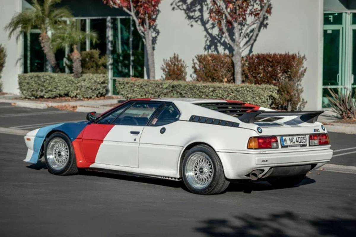Paul Walker's iconic BMW M1 is up for auction - Women on Wheels